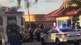 Wounded man drives himself to McDonald's, police say