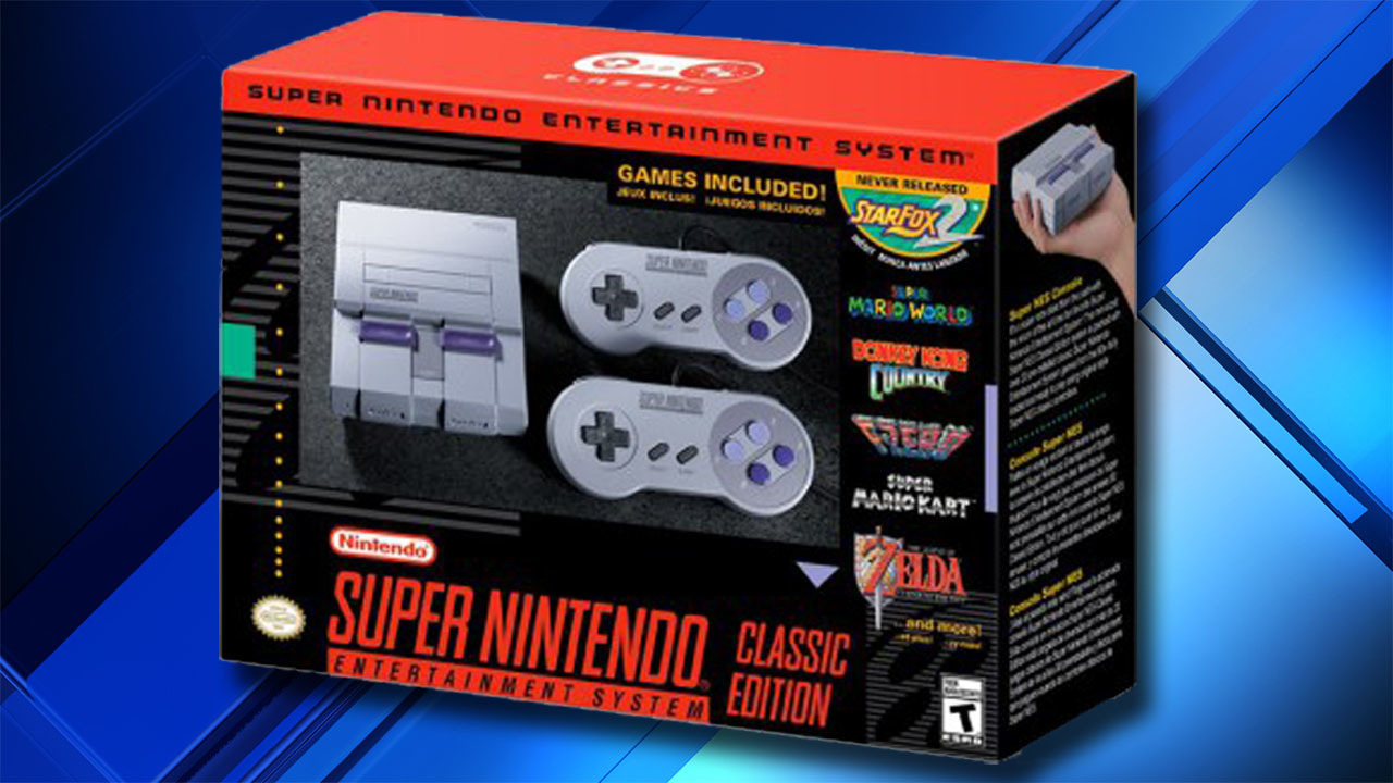 nintendo announces super nintendo classic edition. Black Bedroom Furniture Sets. Home Design Ideas