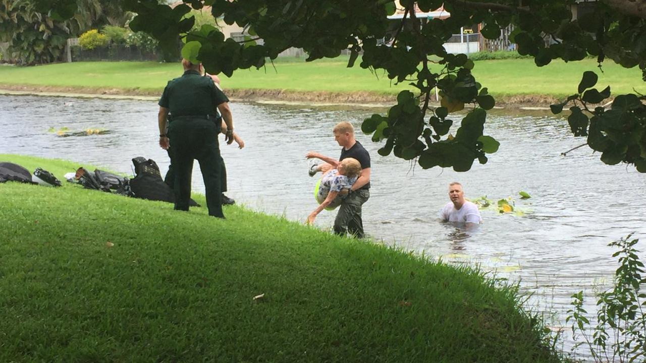 Police: Navy sailor, 18, arrested after swimming naked