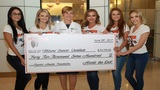 Hooters of South Florida donates $42,700 to Miami Cancer Institute