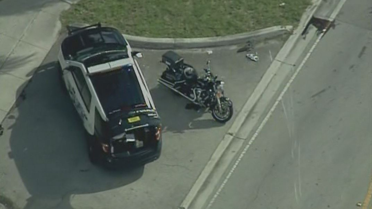 Miami Beach Motorcycle Accident