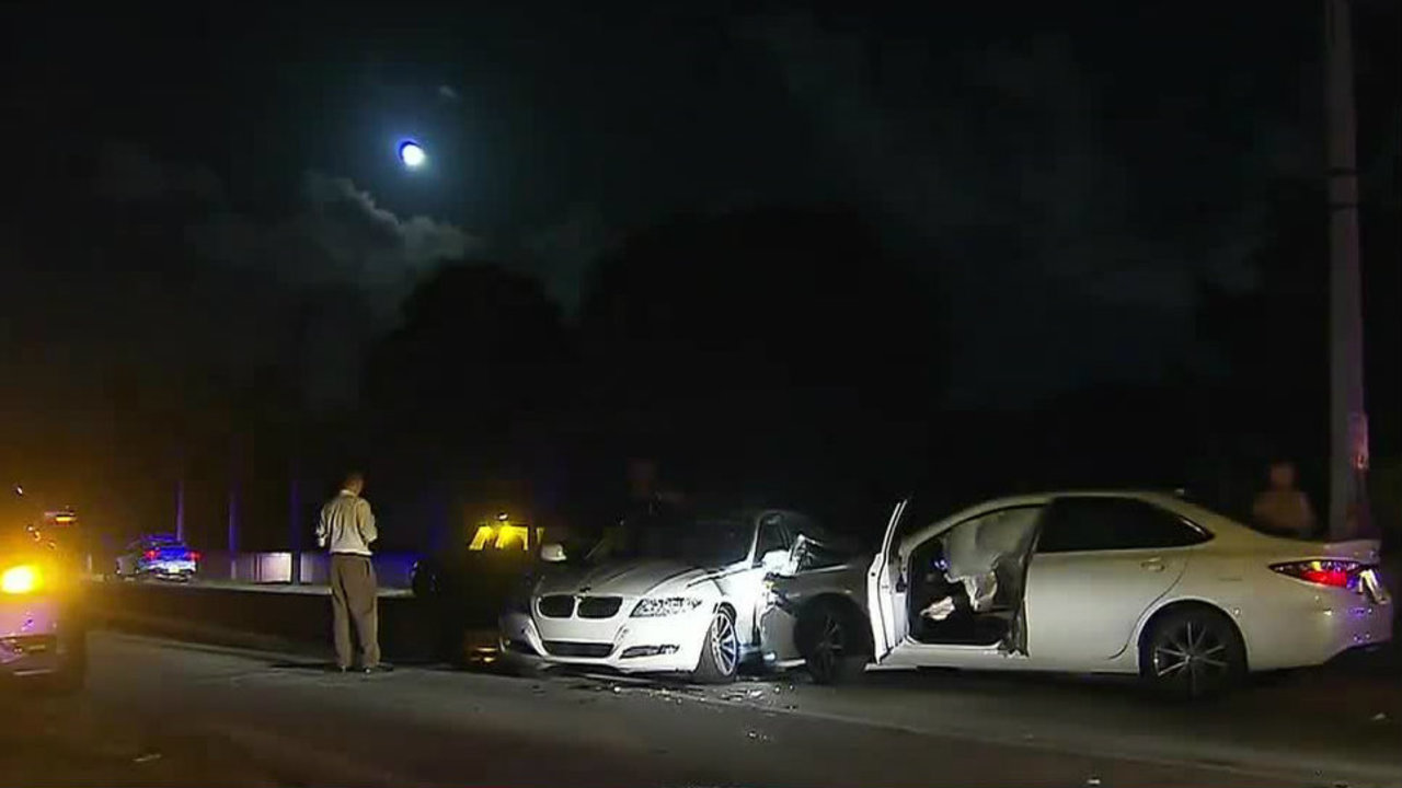 Chase Ends In Crash In Southwest Miami Dade