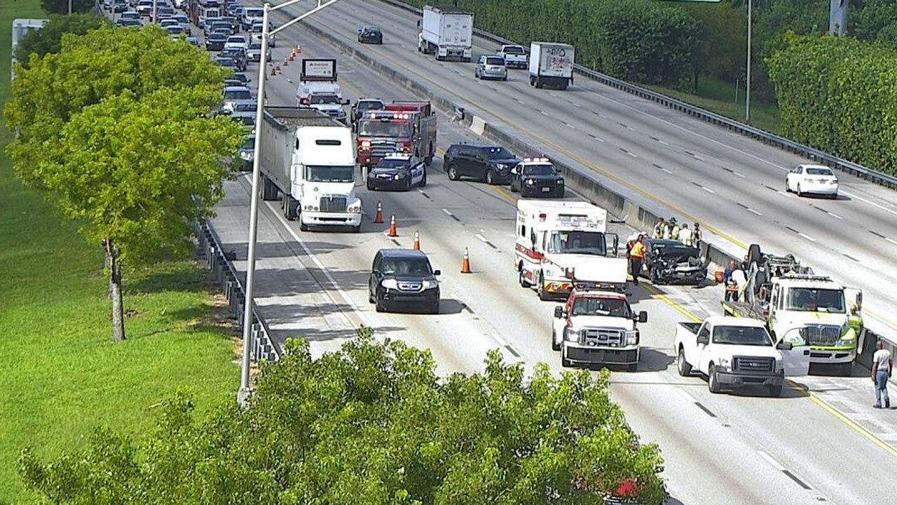 Florida Highway Patrol Traffic >> Crash causes traffic delays on Florida Turnpike in Broward County