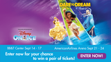 Disney on Ice's - Dare to Dream Ticket Giveaway
