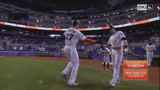 Giancarlo Stanton hits 56th homer, Marlins beat Mets 9-2 for sweep