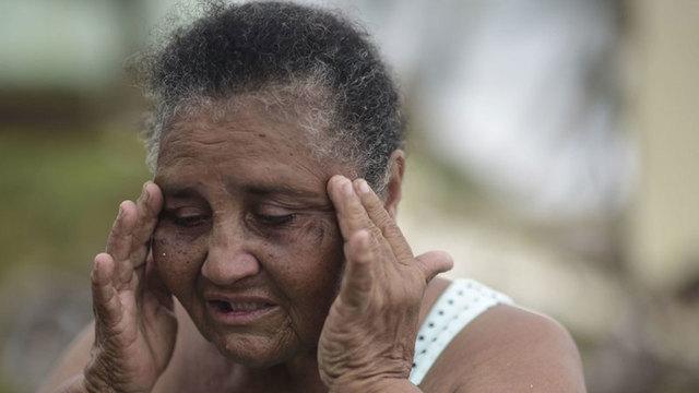PUERTO RICO HURRICANE MARIA GRANDMA