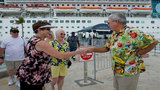 First cruise ship arrives in Key West after Irma