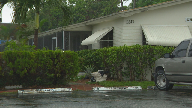 Hollywood home where man killed