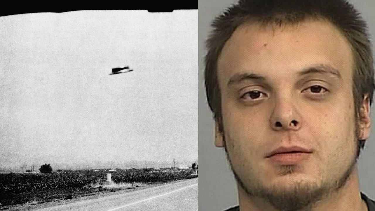 Arrested drunk man claims he time traveled to warn of aliens