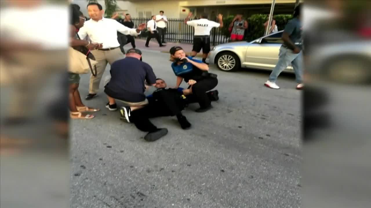 New video shows crash, fatal shooting in Miami Beach