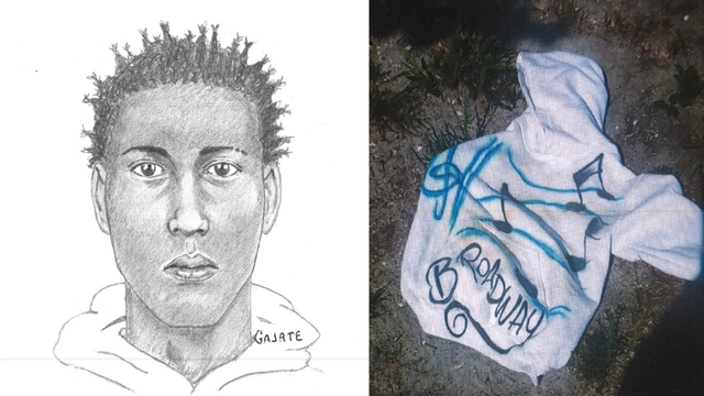 Sketch of Broward County robber who shot man on front porch