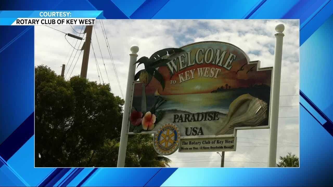 Welcome To Key West Sign Is Back In Florida Keys