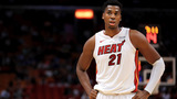 Whiteside out for Monday's Heat-Hawks game