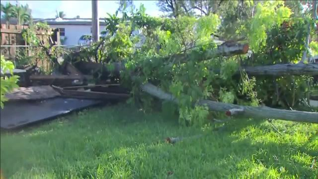Tornadoes cause some damage during Tropical Storm Philippe