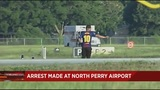 Man wearing FC Barcelona jersey disrupts flights at North Perry Airport