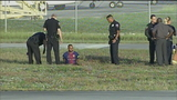 Man taken into custody at North Perry Airport