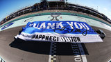 NASCAR's most popular star gets proper send-off