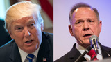 Trump discounts accusations against Roy Moore
