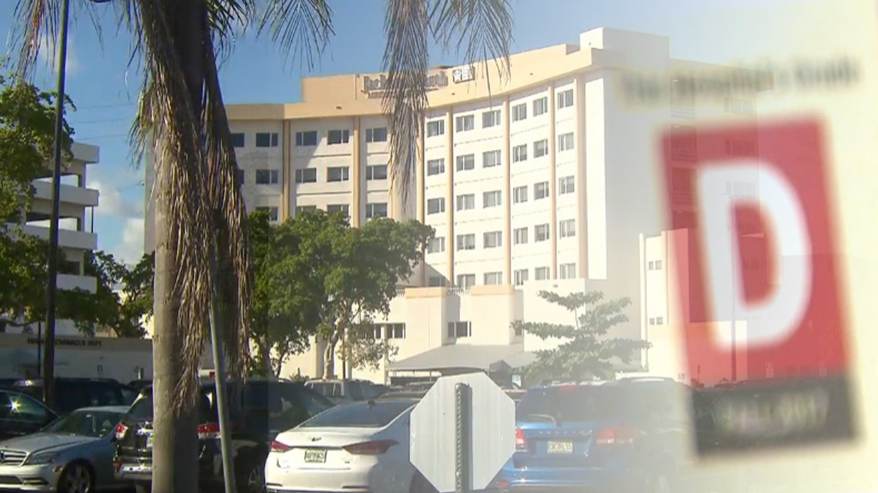 3 South Florida hospitals not making grade, report says
