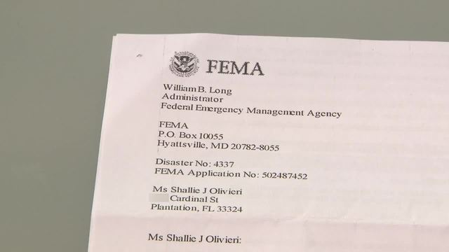 South Florida Residents Receive Fraudulent Fema Disaster