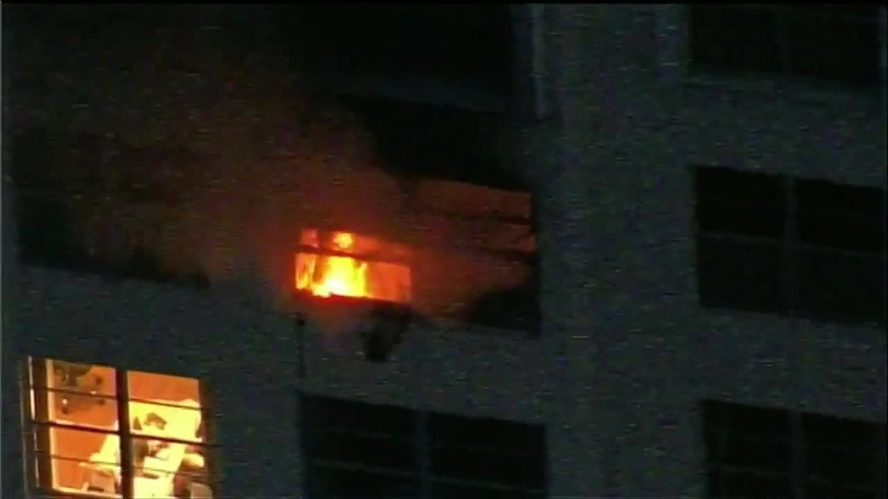 9 Injured In Sunny Isles Beach High Rise Fire