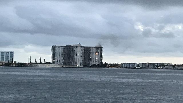 Fire at Sunny Isles Beach high-rise