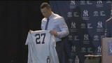 Stanton officially joins New York Yankees