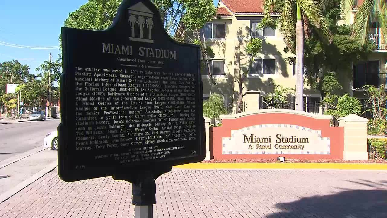 Historical Marker Installed At Former Bobby Maduro Miami