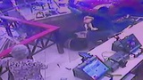 Surveillance video shows car crashing into Pollo Tropical in Davie