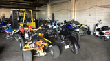 Tow yard claims riders attempted to break in to retrieve impounded bikes, ATV's