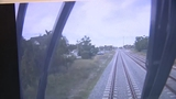 Video show moments before Brightline train hit bicycle rider