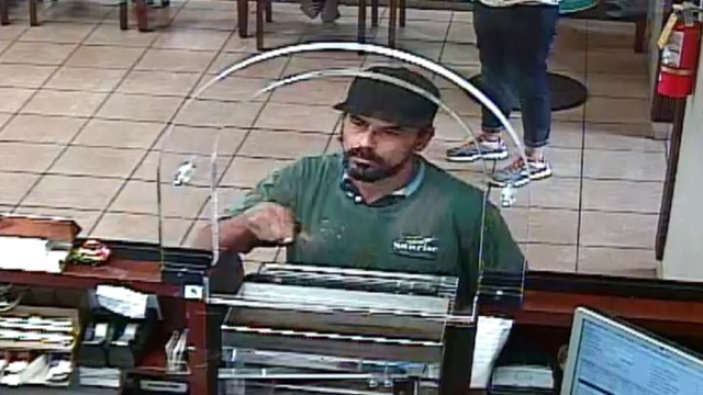 Man robbing Hialeah bank