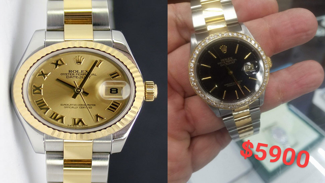 Rolex watches stolen from Pembroke Pines store
