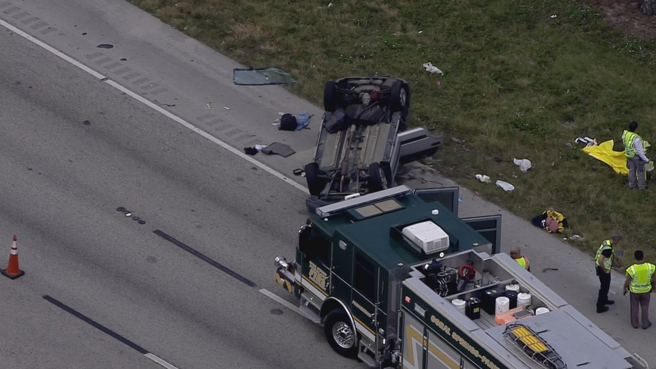 Florida Car Accident: Driver Killed In Single-vehicle Crash On Sawgrass Expressway