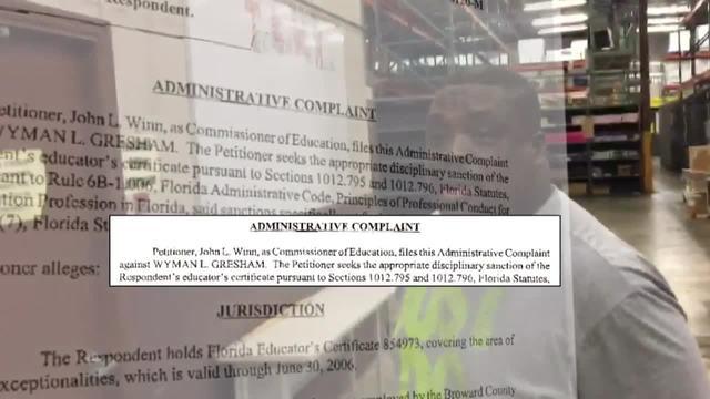 Wyman Gresham administrative complaint