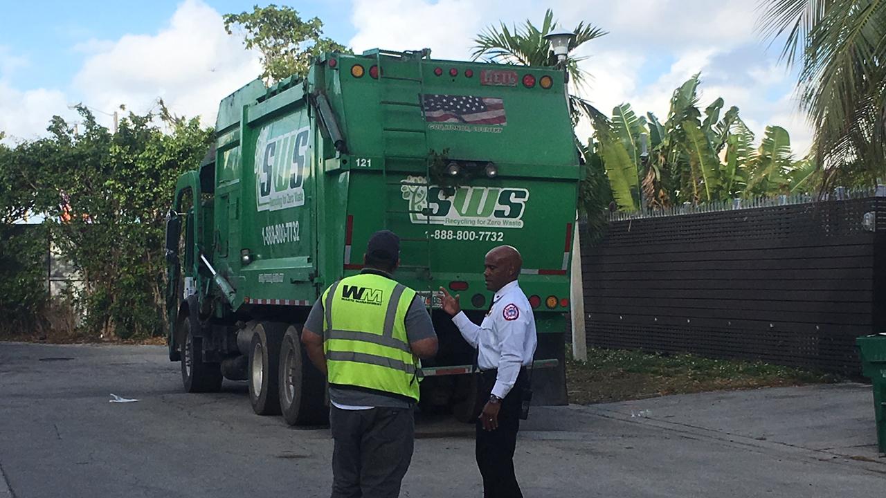 Dumpster Miami Beach