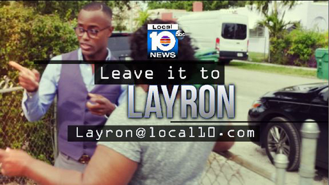 Leave It to Layron meets woman facing cancellation of insurance policy