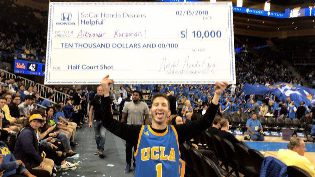 South Florida college student wins basketball contest ...