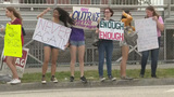 South Florida students take to streets to protest gun laws