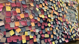 Post-it wall at Parkland support center shares messages of love, hope