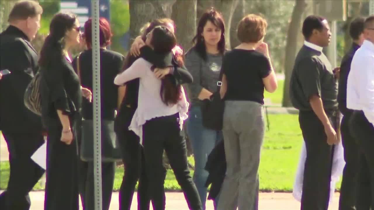 Several Parkland school shooting victims laid to rest Tuesday