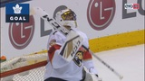 Panthers end road trip with 1-0 loss in Toronto