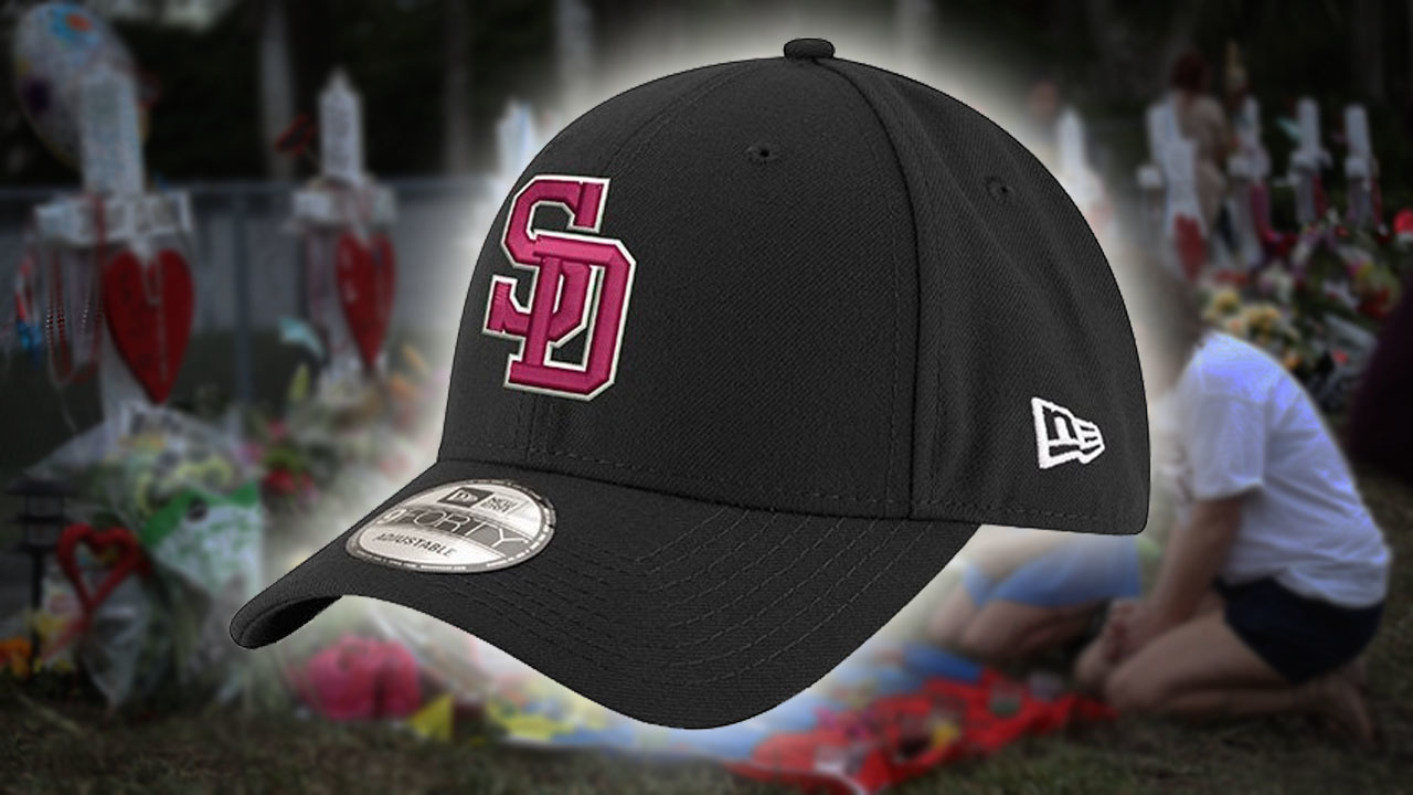 f919615a6bb MLB releases Stoneman Douglas hats all 30 teams to wear