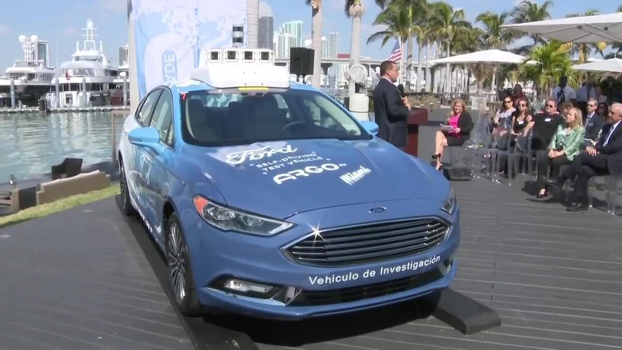 Ford is bringing self driving cars to miami dade county solutioingenieria Image collections