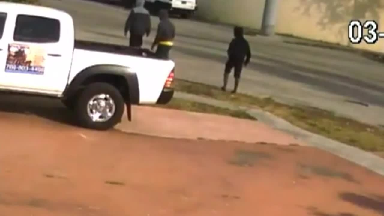 video shows driver get shot during carjacking in north miami