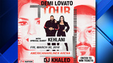 Win tickets to see Demi Lovato in concert at the American Airlines Arena
