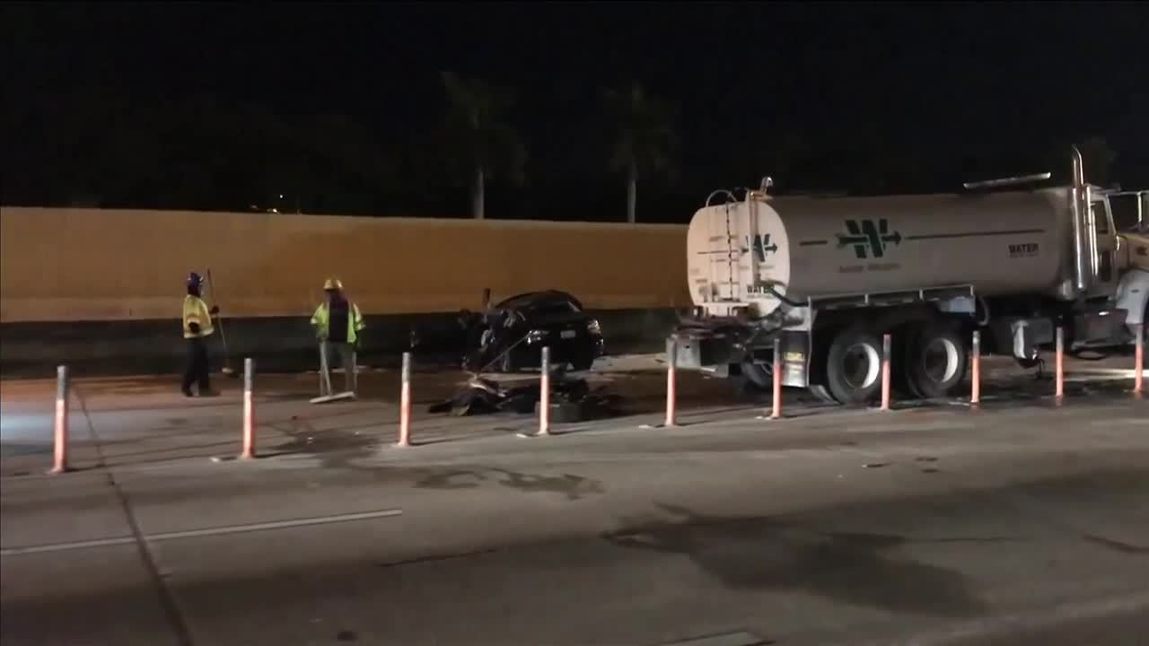 Driver dead in wrong-way crash on I-95