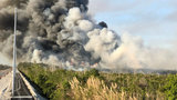 Crews fight grass fire in southwest Miami-Dade County