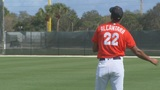 Marlins option pitching prospect Alcantara