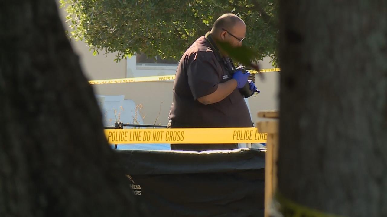 police investigate double